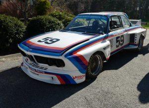 1976 24 Hours of Dayton winner BMW 3.0 CSL