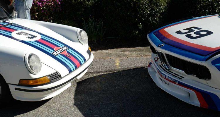 Vintage racers face off