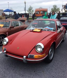 red 911 at hershey swap meet