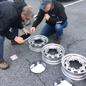 haggling for hubcaps at Hershey