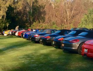 Boxsters at Amelia Island 2017