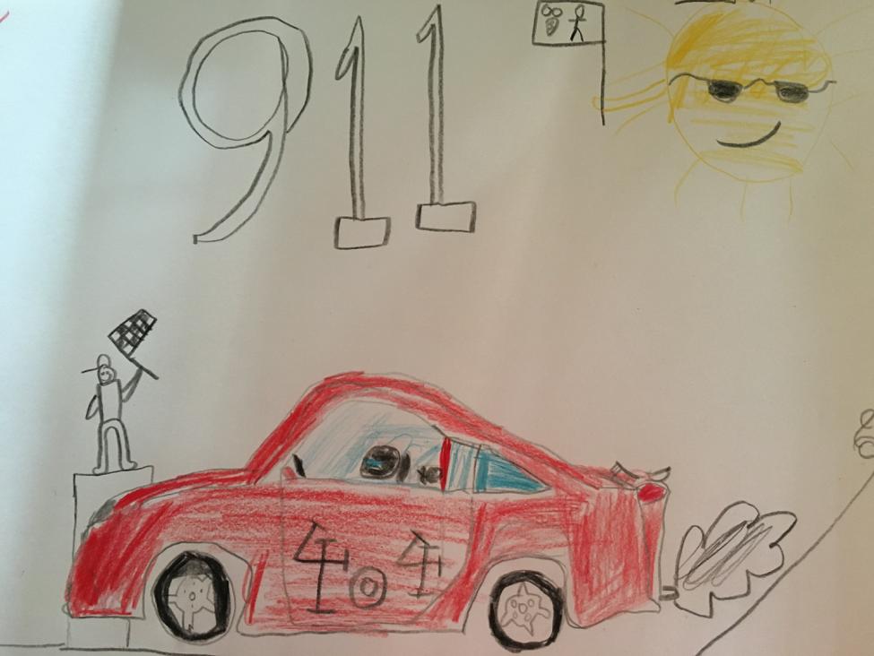 911 Drawing