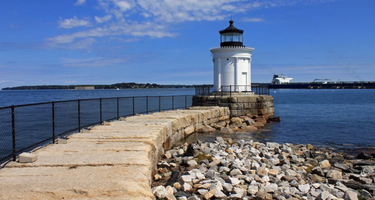 bug light lighthouse south portland maine