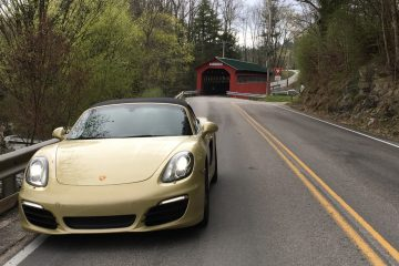 Covered bridge during the 2017 Ramble (Dennis Friedman)