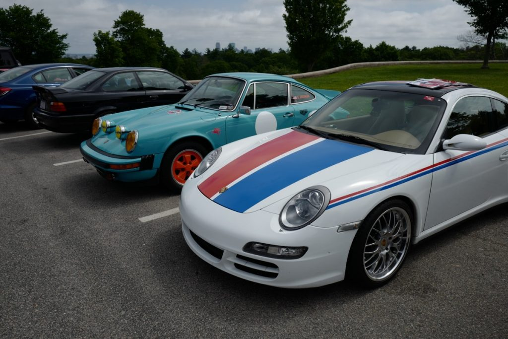 Larz Anderson German Car Day 2017 - safari 911 and brumos 997