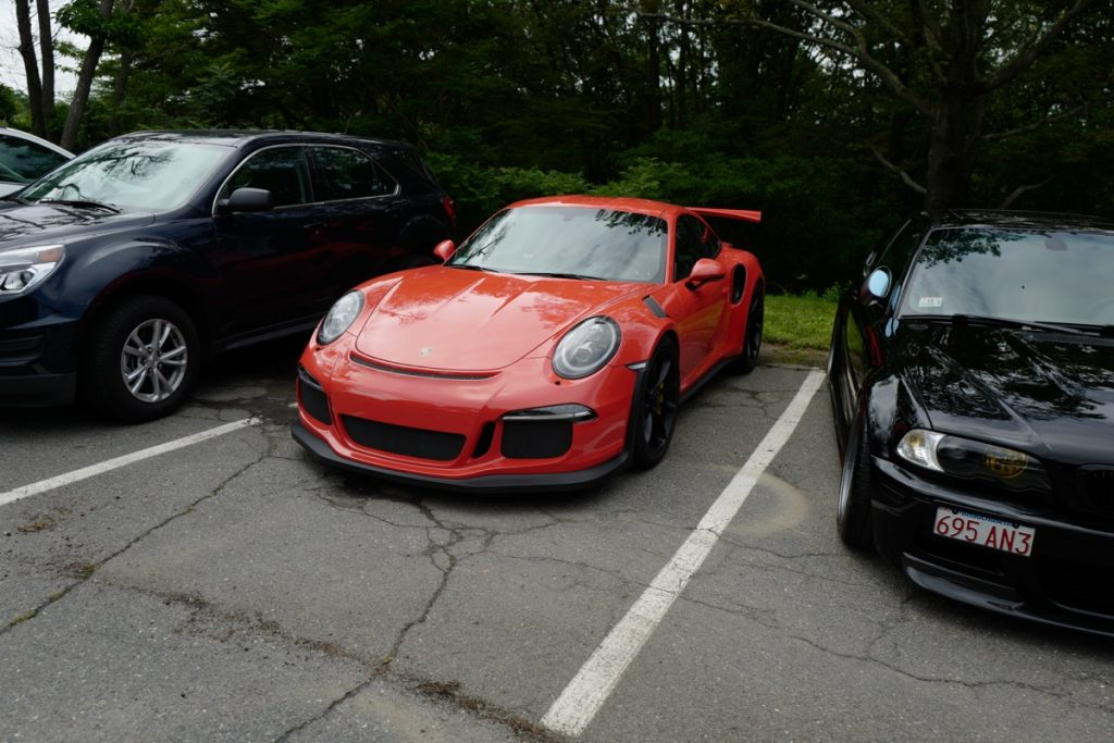 Larz Anderson German Car Day 2017 - 991 GT3 RS lava orange