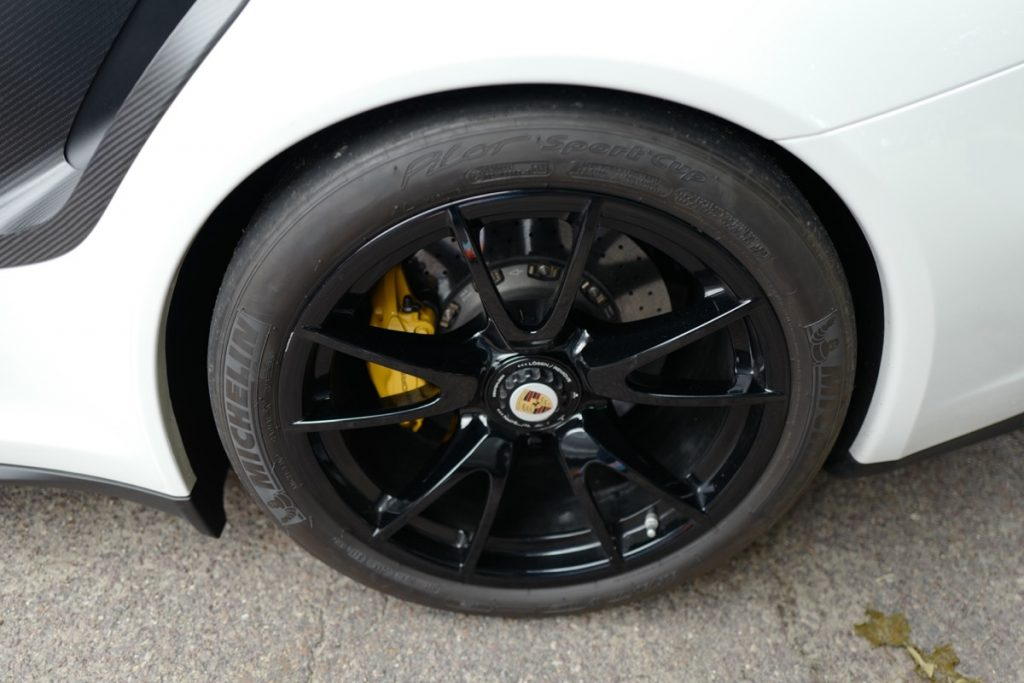 Larz Anderson German Car Day 2017 - 997 GT2 RS wheel