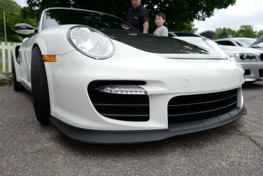 Larz Anderson German Car Day 2017 - 991 GT2 RS front intake