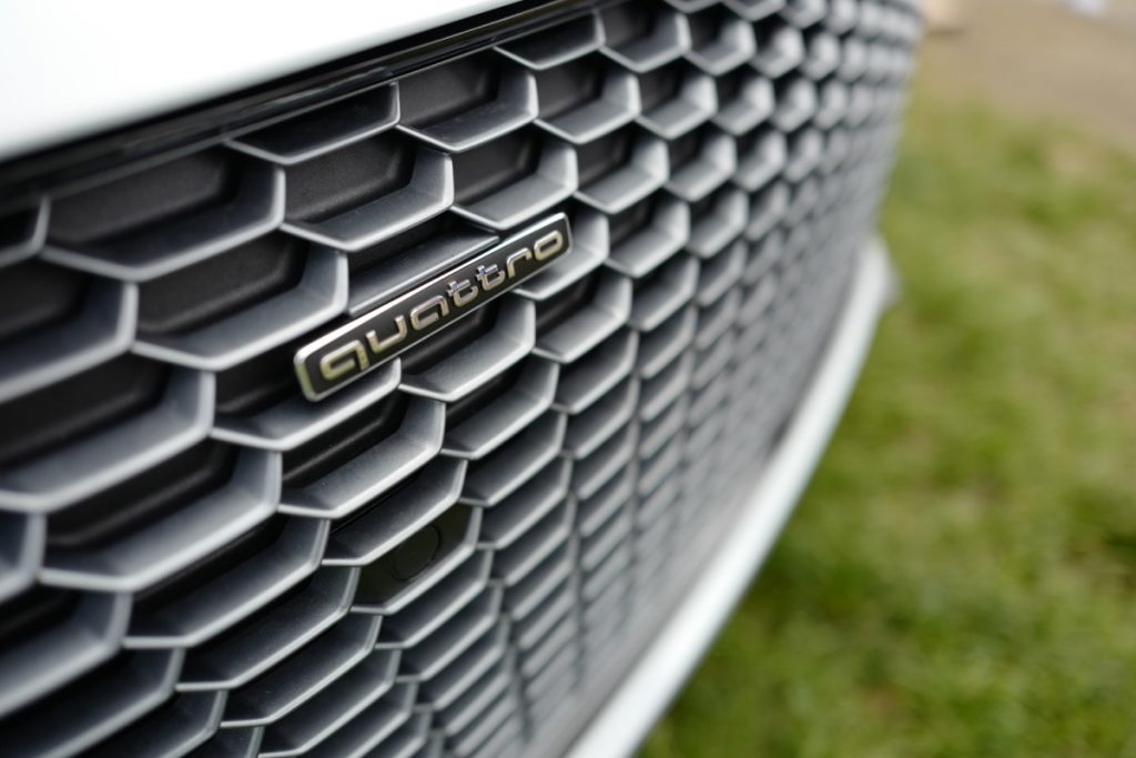 Larz Anderson German Car Day 2017 - Audi R8 V10 front grille