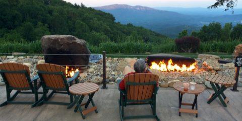 Blue Ridge Boxster Summity 2017 Gary Cooper - Switzerland Inn fire pit