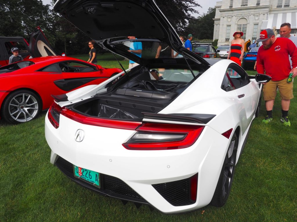 Rosecliff cars and coffee 170708