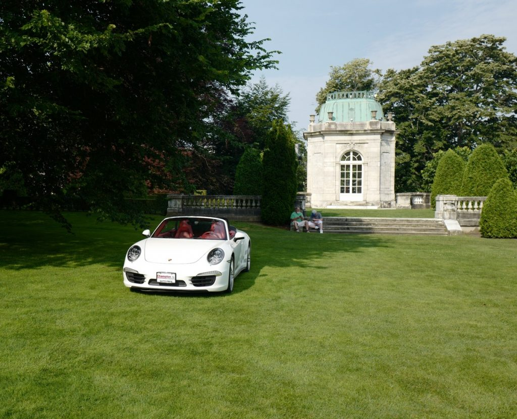 Mansions and motors cars and coffee Audrain Elms Newport 2017