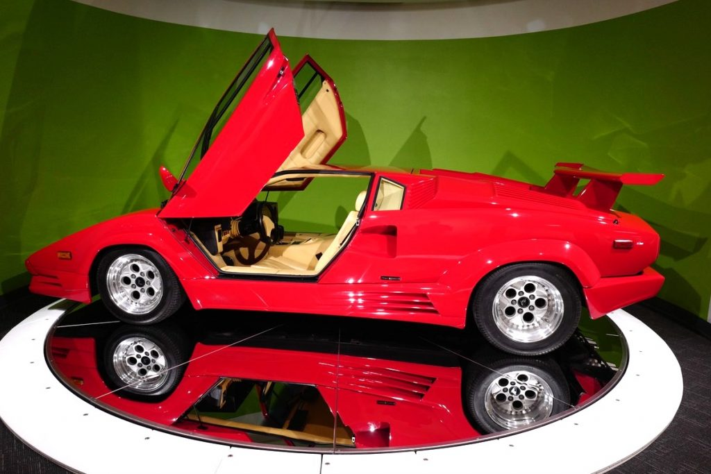 lamborghini countach newport-car-museum-sobo-cars-coffee-pca-ner