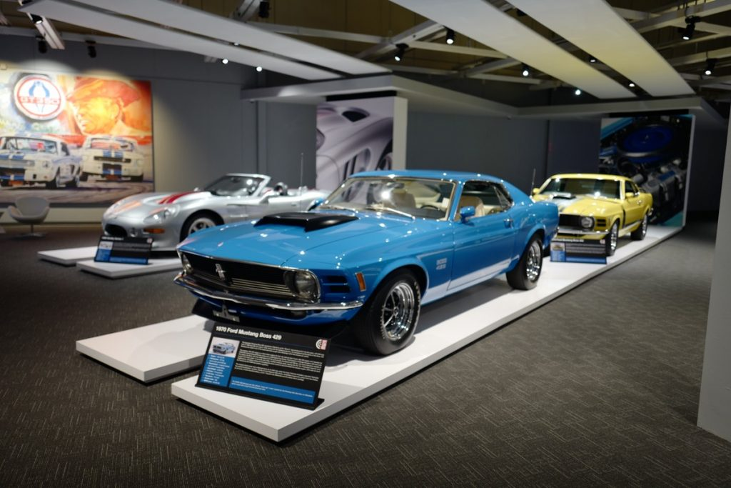 newport-car-museum-sobo-cars-coffee-pca-ner mustang