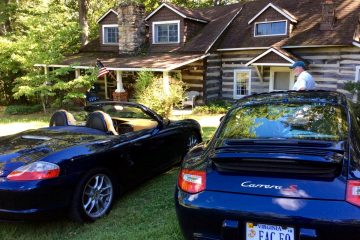 PCA NER porsche rustic cabin in Virginia