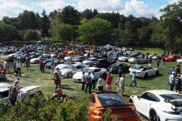 Porsche Day 2017 at Larz Anderson