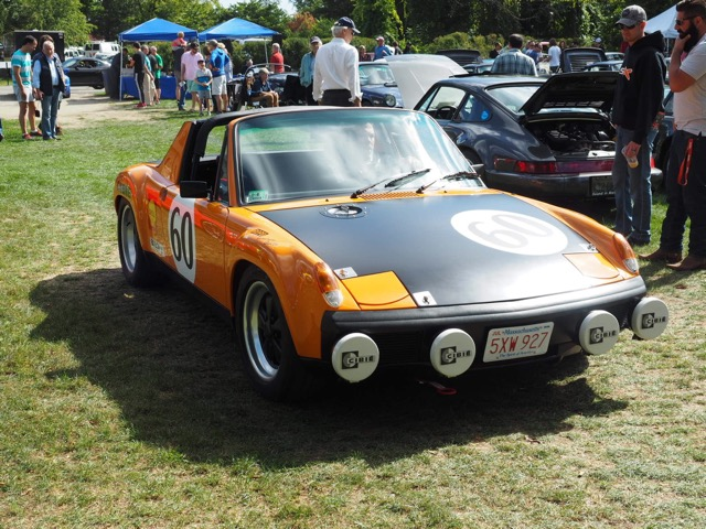Porsche Day 2017 Larz Anderson Museum - 914-6