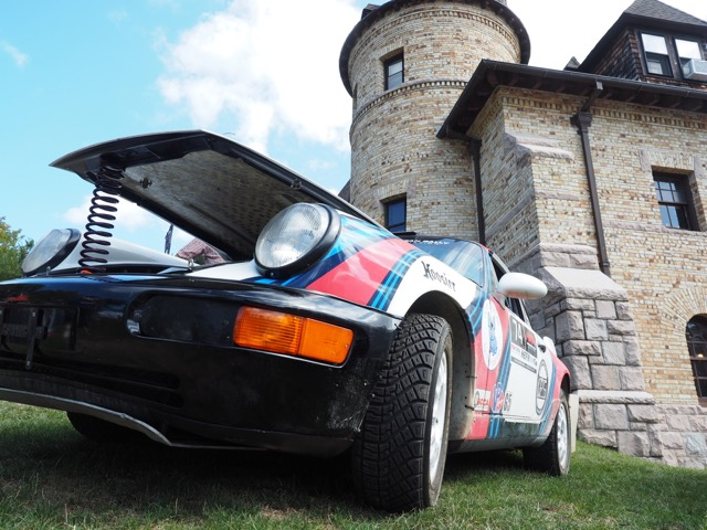 Porsche Day 2017 Larz Anderson Museum - solid structures