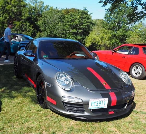 Porsche Day 2017 Larz Anderson Museum - great stripes