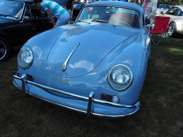 Porsche Day 2017 Larz Anderson Museum - blue 356