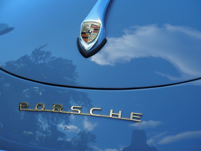 Porsche Day 2017 Larz Anderson Museum - blue