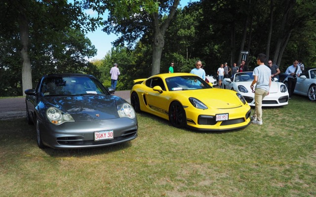 Porsche Day 2017 Larz Anderson Museum - cayman corner