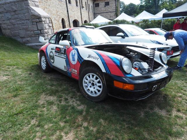 Porsche Day 2017 Larz Anderson Museum - spring