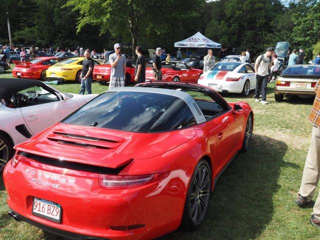 Porsche Day 2017 Larz Anderson Museum - 991 targa