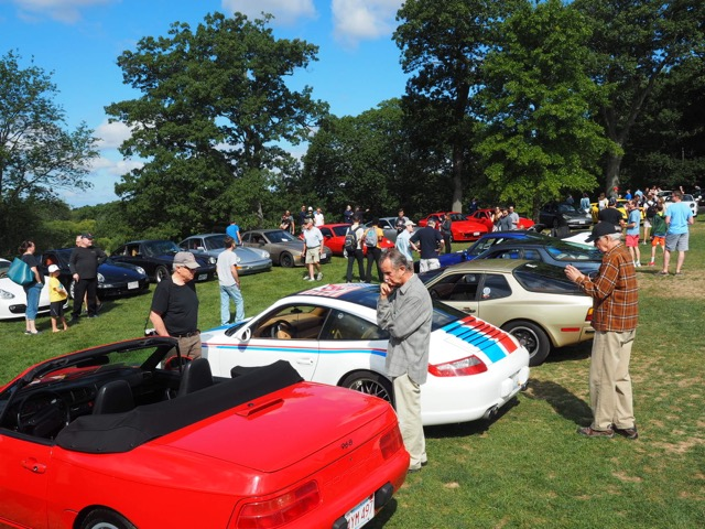 Porsche Day 2017 Larz Anderson Museum - choices