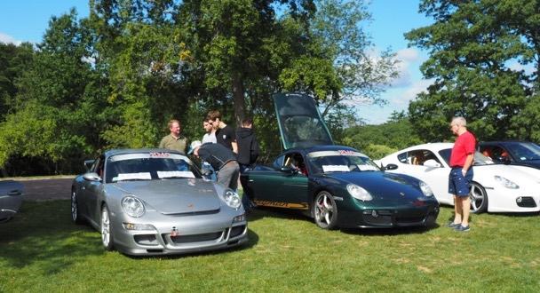 Porsche Day 2017 Larz Anderson Museum - kachel motor company