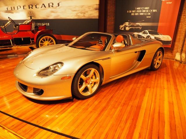 Porsche Day 2017 Larz Anderson - Carrera GT Supercars Origins