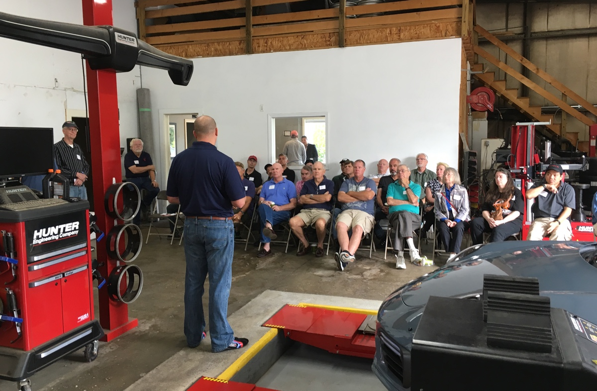 tech session at south shore autoworks