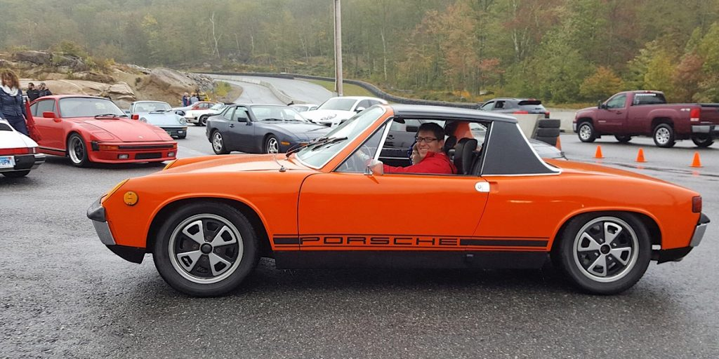 porsche 914 palmer porsche on the mountain