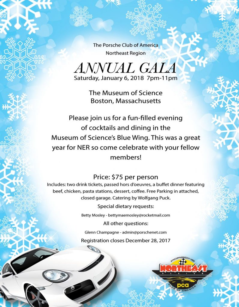 NER annual gala January 6 2018