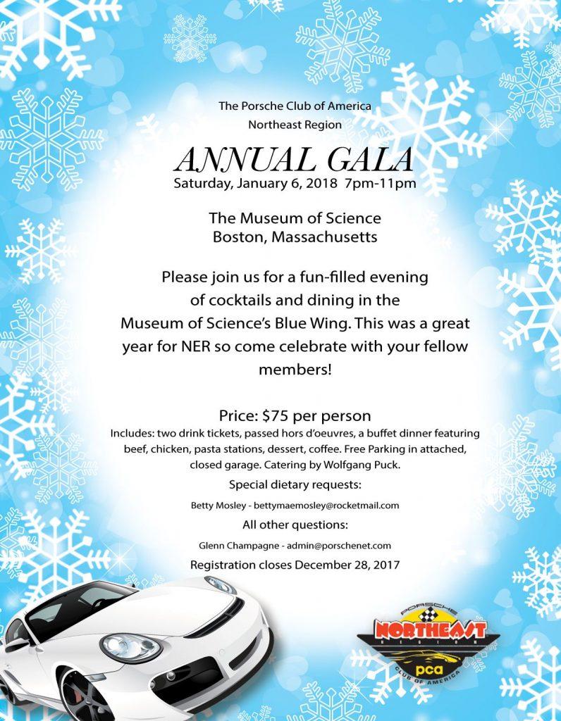 NER annual gala January 6 2018