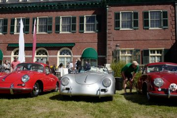 Driven to America 2017 Max Hoffman Center Long Island Air Cooled Porsche 356