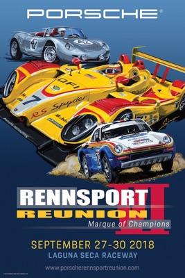 Porsche Rennsport Reunion Poster