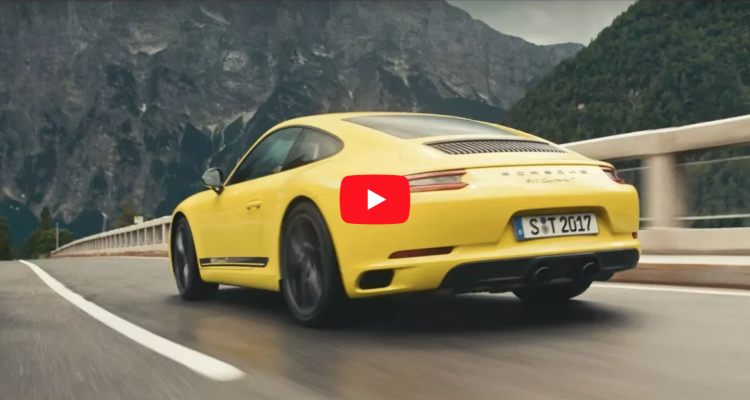 The new Porsche 911 T. T is for Touring