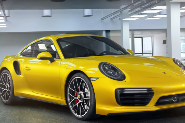 saffron yellow metallic 911, porsche paint