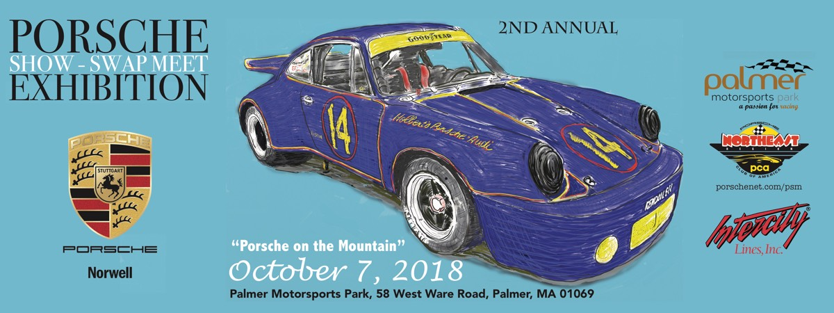 porsche on the mountain palmer 2018 event page show swap meet