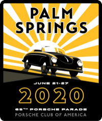 Porsche Parade Palm Springs 2020