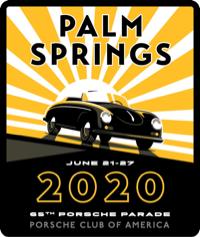 Porsche Parade Palm Springs 2020