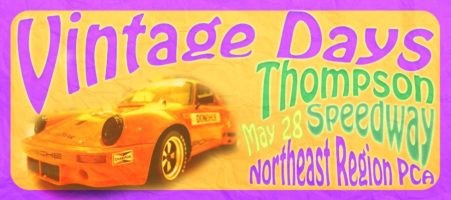 NER Vintage Days Thompson Speedway May 28 2018