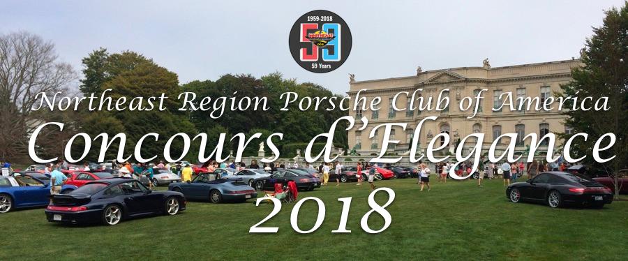 2018 NER PCA Concours d'Elegance Prowse Farms Canton Massachusetts