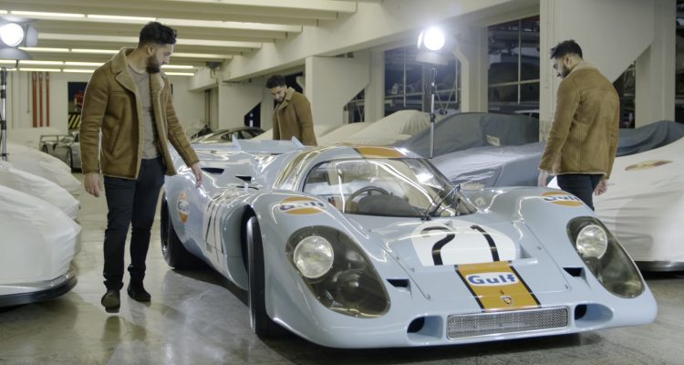 9:11 Magazine. E06: Matt Hummel / Wind Tunnel / 917 Gulf / Porsche Icons / Mission E Cross Turismo