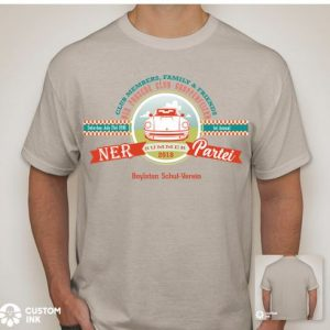 ner summer party 2018 t-shirt