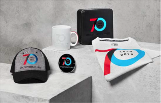 Porsche Norwell 70th Birthday Merchandise