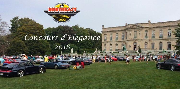 Northeast Region PCA Concours d'Elegance Prowse Farms 2018