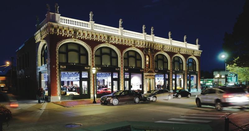 audrain automobile museum porsche then and now exterior