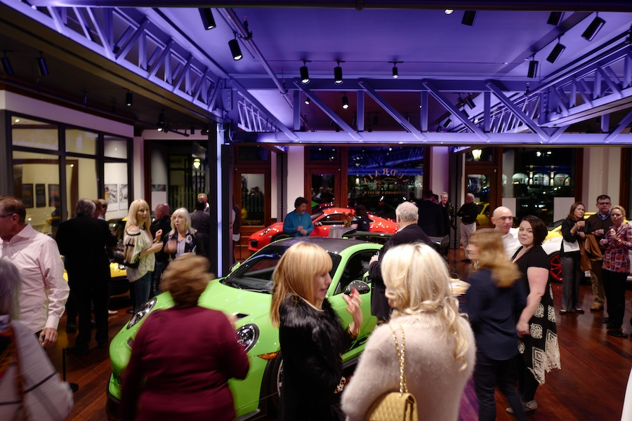 audrain automobile museum porsche then and now reception newport rhode island